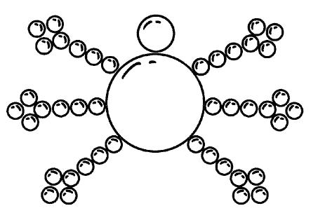 Схема паучка из бисера фото 479