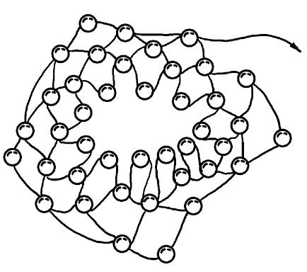 Схема изготовления цветка