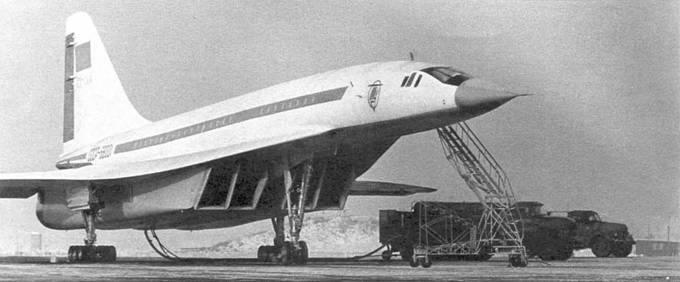 Опытный экземпляр Ту-144