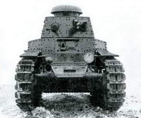 Танк МС- 1(Т-18) после