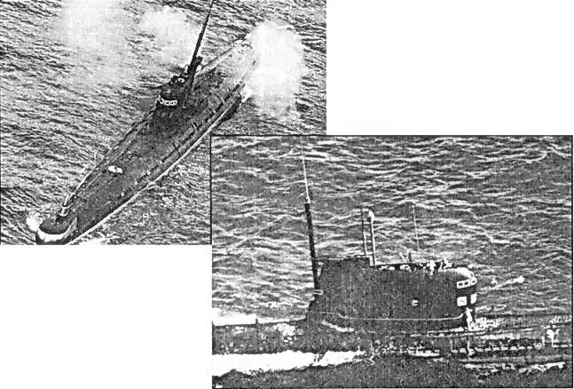 советские дизель-электрические подводные лодки послевоенной постройки